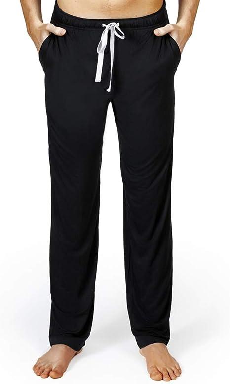 Amazon.com: Pantalones de pijama de bambú, pantalones de ...