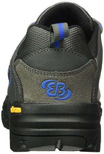 Bruetting CANADA LOW - Zapatos de Low Rise Senderismo Hombre Gris (GRAU/BLAU)