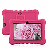 7″ Kids Tablet PC, Ainol Q88 Android 4.4 External 3G 8GB ROM 512MB RAM Tablet with Dual Camera WIFI USB Phablet (Pink)