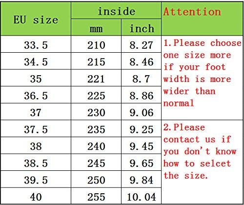 Femmes et Filles Ballet Pointe Chaussures Satin Professionnelle Pointes de Danse accessoires gratuits: Protecteurs & Ruban, Pink, EU34Longueur intérieure 21cm