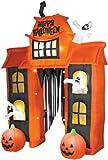 Gemmy Halloween Airblown Archway 10'
