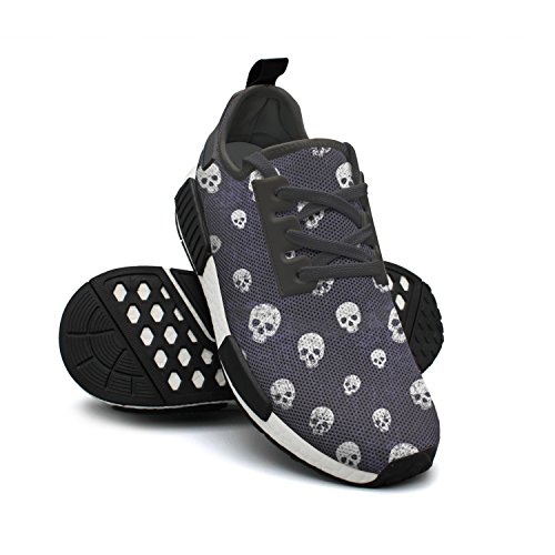 Grunge Longhorn Lightweight Mesh Fashion FAAERD Walking Rendy Sneaker Shoes Breathable Skulls Womens g1ETIq