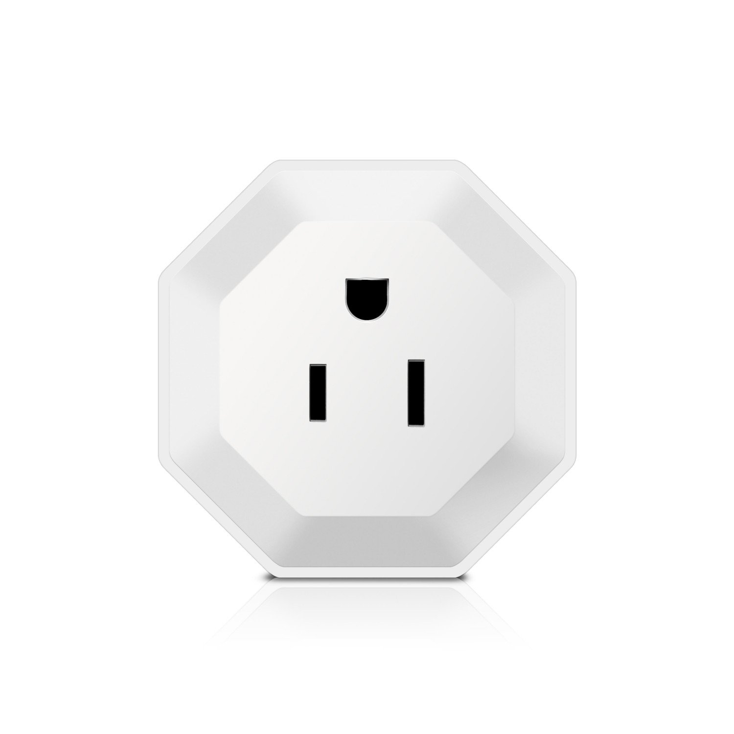 MJeck WiFi Smart Plug, Compatible with Alexa and Google Home, no hub required to voice control smart home devices, mini smart socket design (Mini Plug 03 - 1 Pack)