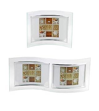 Bilderrahmen Glas zum Stellen für 13x18 cm Bilder Glasrahmen Fotorahmen