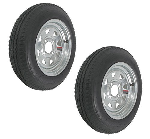eCustomRim 2-Pk Trailer Tire Rim 4.80-12 12
