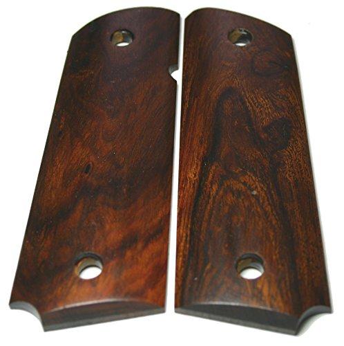 FIT Custom 1911 Gun Grips 1/4 sawn Figured Arizona Desert Ironwood Gov Full Size Factory Wood