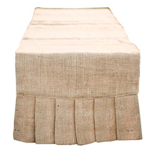 Glory Haus Plain Burlap Table Runner, (Southern Textiles Linens)