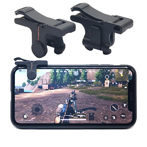 Royale Handle - Gbell Adults,Boys,Girls Mobile Phone Gaming Trigger Fire Button Handle for L1R1 Shooter Controller PUBG for Survivor Royale, Knives Out (A)