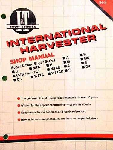 1991 I&T International Harvester Tractor Shop Manual - IH-8