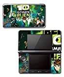 Ben Ten 10 Ultimate Alien Omnitrix Tennyson Video Game Vinyl Decal Skin Sticker Cover for Original Nintendo 3DS System