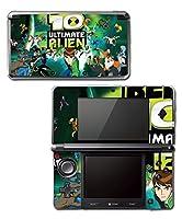 Ben Ten 10 Ultimate Alien Omnitrix Tennyson Video Game Vinyl Decal Skin Sticker Cover for Original Nintendo 3DS System
