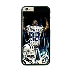 NFL Case Cover For Apple Iphone 6 4.7 Inch Black Cell Phone Case Dallas Cowboys QNXTWKHE1643 NFL DIY Customized Phone