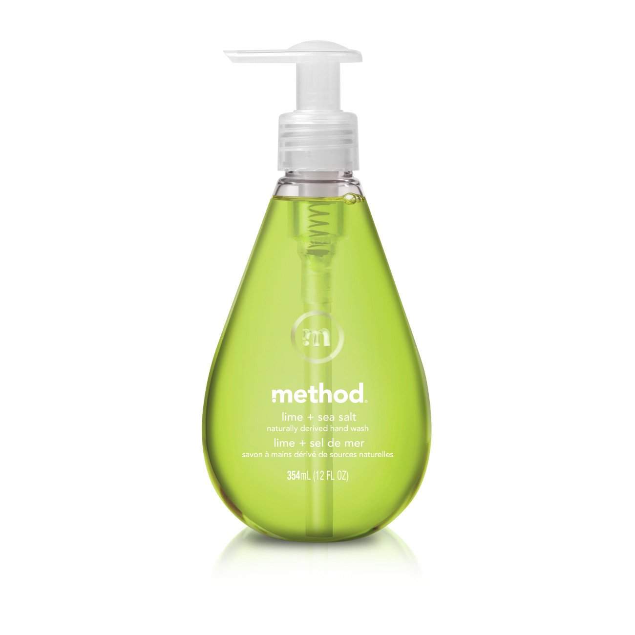 Method Gel Hand Soap, Lime + Sea Salt, 12 Fluid Ounce