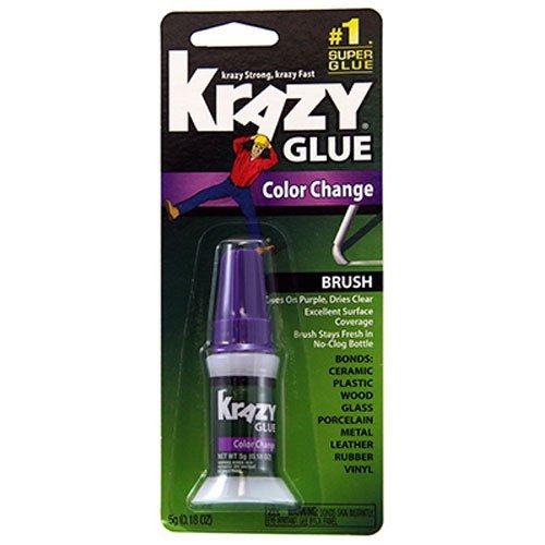 krazy-glue-kg98848r-instant-crazy-glue-color-change-brush-018-ounce-2-pack