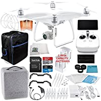 DJI Phantom 4 Advanced+ Quadcopter EVERYTHING YOU NEED Essential Bundle