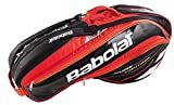 Babolat Pure Control Black/Red 6 Pack Bag