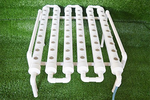 Hydroponic Grow Kit 54 Plant Sites Horizontal 6 Pipes 110V Pump (Item # 141118) by Tool