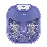 Conair Heat Sense Foot Spa/Pedicure Spa with Massaging Foot Rollers, Bubbles, Jets, and Heat