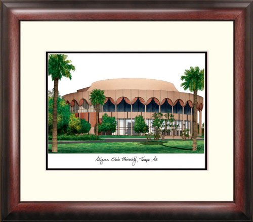 Framed State Arizona University Lithograph (NCAA East Carolina Pirates Alumnus Framed Lithograph)