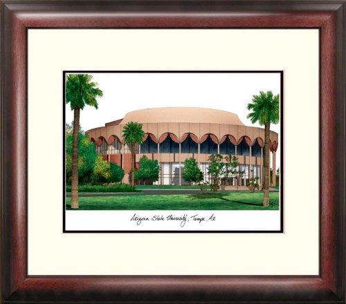 Arizona State University Lithograph Framed (NCAA East Carolina Pirates Alumnus Framed Lithograph)