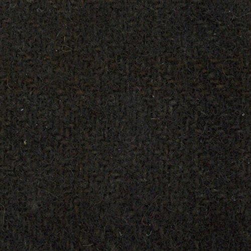 Primitive Gatherings Hand Dyed Wool Black Glens Plaid 15 inch x 25 inch Cut Piece Moda PRI 5003 (Wool Dyed Fabric Hand)