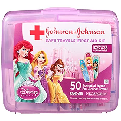 Johnson & Johnson Red Cross Brand Safe Travels First Aid Kit Featuring Disney Princess by Johnson & Johnson - Ketotifen