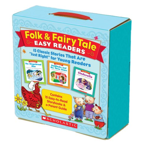 (Folk & Fairy Tale Easy Readers Parent Pack: 15 Classic Stories That Are