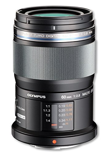 Olympus MSC ED M. 60mm f/2.8 Lens - International Version (No Warranty) [並行輸入品]   B01KM6PR7C