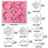 Funshowcase Baroque Style Curlicues Scroll Lace