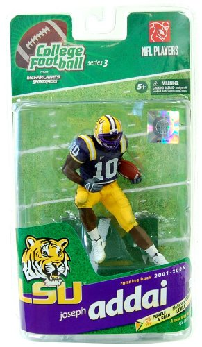 NCAA Sportspicks S.3 Joseph Addai - LSU - Gold Level Variant AF by NCAA