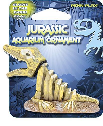 Penn Plax Jurassic Mini Aquarium Ornaments - Pliosaur (1.38