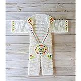 Crochet newborn Elvis outfit, crochet baby Elvis outfit jumpsuit