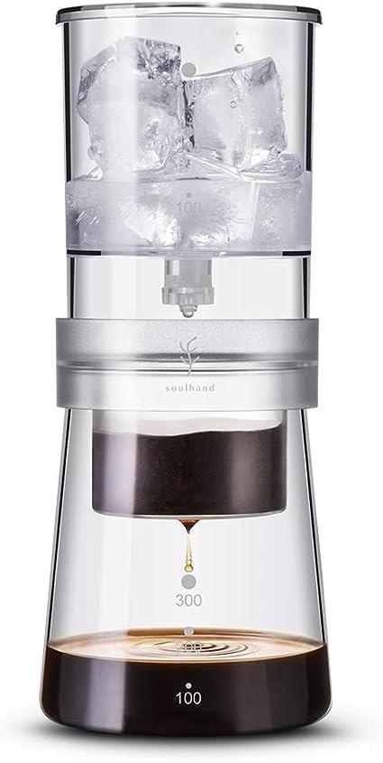 Soulhand - Cafetera para hacer hielo (capacidad ajustable, 350 ml), diseño holandés: Amazon.es: Hogar