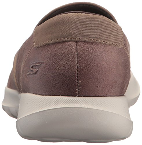 Walk Womens Loafer Go Skechers Taupe Skechers Womens Lite Queenly qSw7UICI
