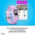 Orologio Principesse Disney - Rosa - Garmin Vivofit JR 2 Activity Tracker per Bambini con Cinturino Regolabile - 6 anni