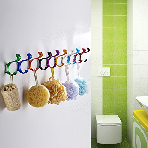 well-wreapped C&C Products Space Aluminum Colored Swan Hook Decorative Hanger