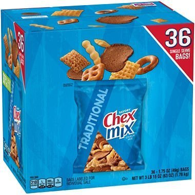 Chex Mix Traditional Savory Snack Mix 36 -