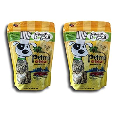 Healthy Dogma 2 Pack of PetMix Original Homemade Dog Food, 2 Pounds Each