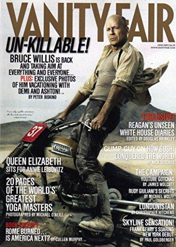 Vanity Fair - June 2007 [The Queen (cover story)]