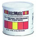 high temp bearing grease - LubriMatic 11380 High Temp Disc/Drum Brake Wheel Bearing Grease, 16 oz. Can