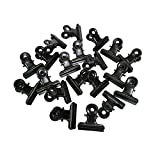 Metal Bulldog Clips, 1.25 Inches, Pack of 20