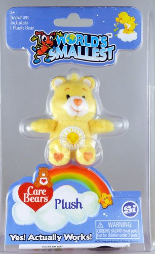 World's Smallest Care Bears Assortment - Care Bears Cheer Bear Plush