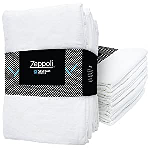 Amazon.com: Zeppoli 12-Pack Flour Sack Towels - 31 x 31