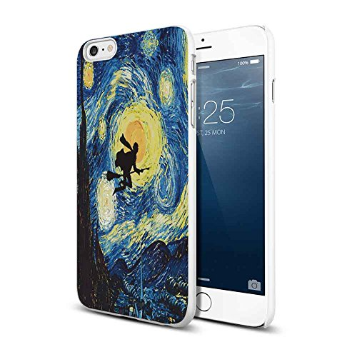 harry potter starry night van gogh For iPhone 6 Plus/6s Plus White case