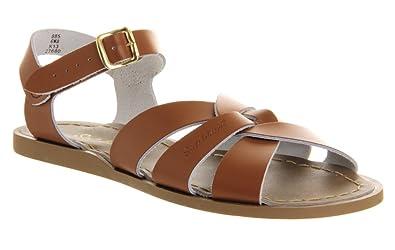 26ad3200c Salt Water Sandals - Original TAN Leather Sandals: Amazon.co.uk ...