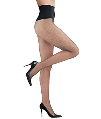 4a4521aadf45e4 Commando Women's Very Fine Fishnet Tights at Amazon Women's Clothing store: