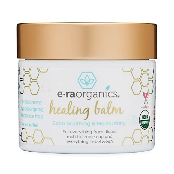Healing Ointment for Babies 2oz. USDA Certified Organic Natural ...