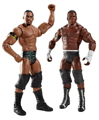 WWE Dual Impact: Michael Tarver & David Otunga Figure 2-Pack - Series #10 by Mattel