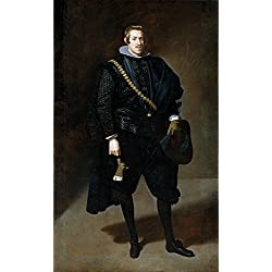 Perfect Effect Canvas ,the Cheap But High Quality Art Decorative Art Decorative Canvas Prints Of Oil Painting 'Velazquez Diego Rodriguez De Silva Y The Infante Carlos 1626 27 ', 10 X 17 Inch / 25 X 42 Cm Is Best For Kitchen Decoration And Home Gallery Art