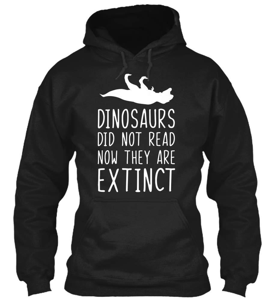 Reading Funny Tshirt Dinosaurs Didnt Read Tee